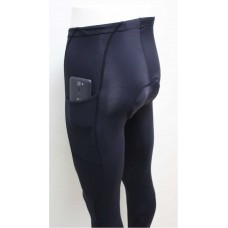Calça de Ciclismo Road Bikes - Black Full