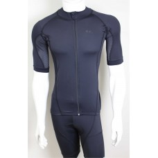 Camisa de ciclismo Road Bikes - black full