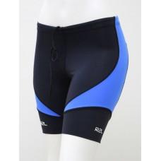 Bermuda Swim Training - feminina - Preta com detalhe azul